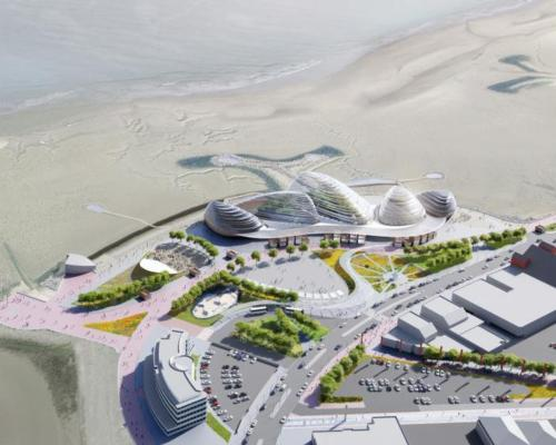 A planning application for the £125m Morecambe project was submitted in September / Eden Project
