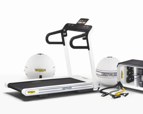 The series includes three products – a treadmill, a multifunction bench and a wellness ball