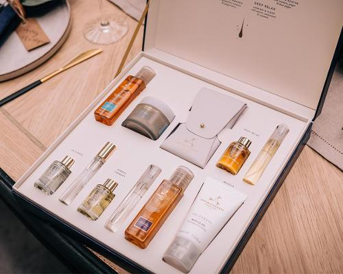 Aromatherapy Associates' hand-blended festive giftsets help guests energise, calm, restore, soothe and sleep