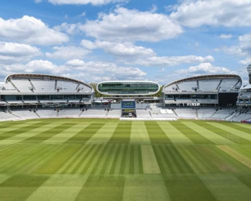 The new stands sit on either side of the iconic J.P. Morgan Media Centre