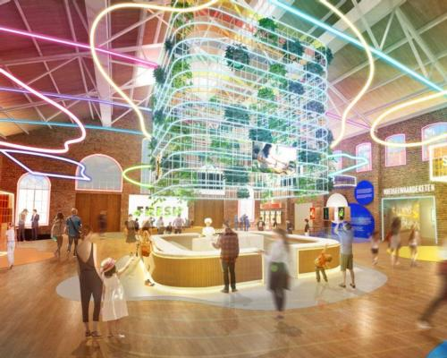The attraction is set to open to the public in 2023