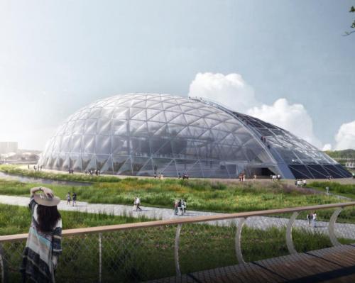 Eden Project Qingdao reaches construction milestone