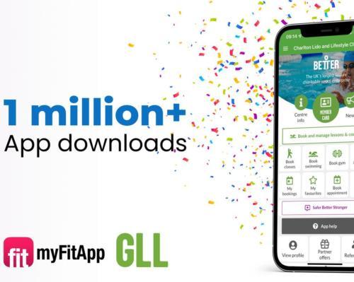 Featured supplier news: GLL Better UK App passes 1 million downloads