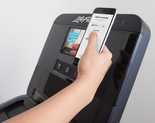 The app will collect data from workouts