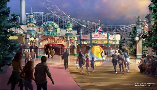 In 2018 Disney California Adventure will welcome the park's Paradise Pier rebranded as Pixar Pier