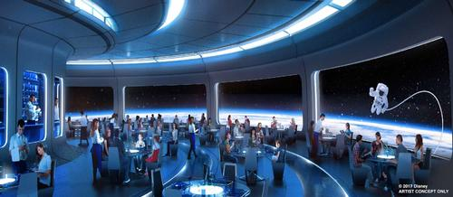A space-themed restaurant is coming to Epcot