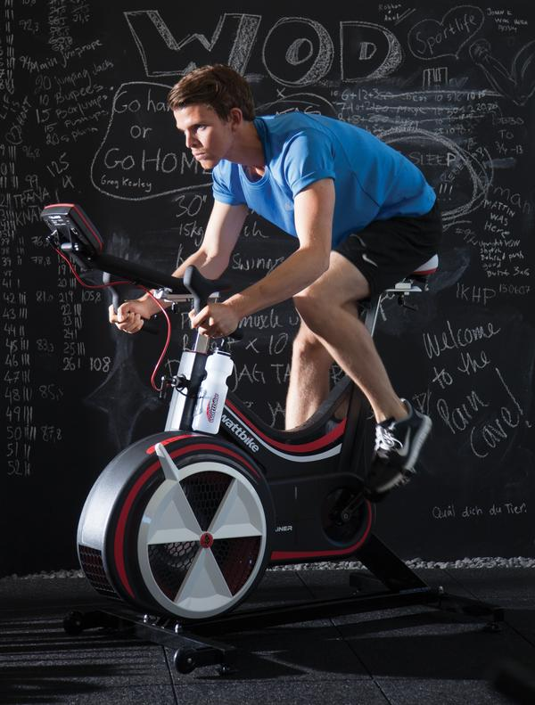 Wattbike's intensity starts and stops with the individual