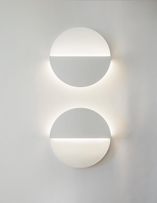 Geometry inspired the simplicity of the Cycladic Circle Sconce