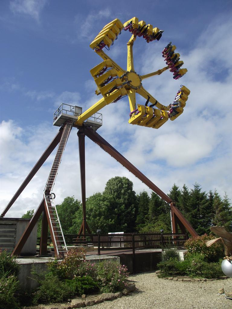 Lightwater Valley has closed its Eagles Claw following the accident