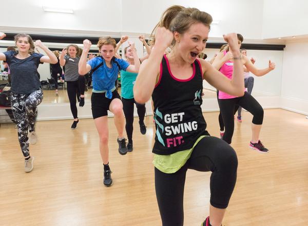 Gym-based dance concept SwingTrain