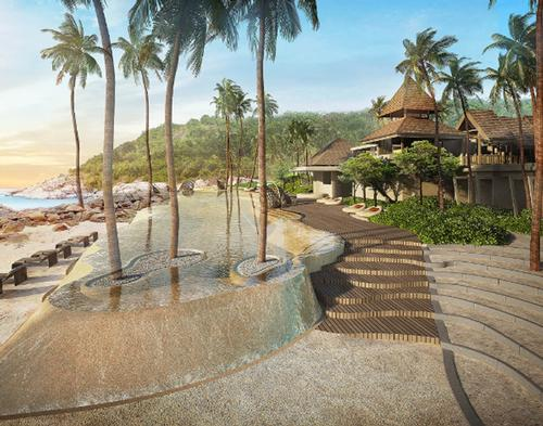 The Ritz-Carlton Koh Samui will be developed in the region of Plai Laem / Ritz-Carlton