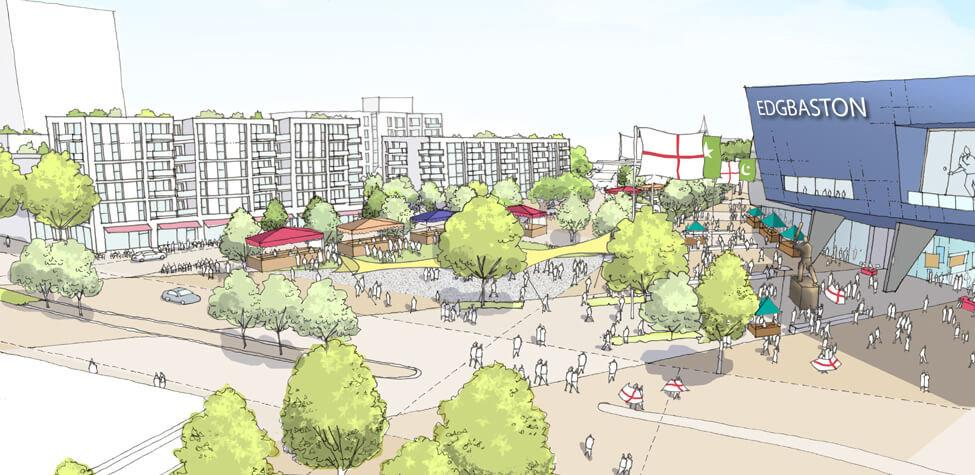 The agreement will see Patrizia UK build 375 build to rent homes, as well as new retail opportunities on the proposed four-acre site next to the stadium. / Warwickshire CCC website