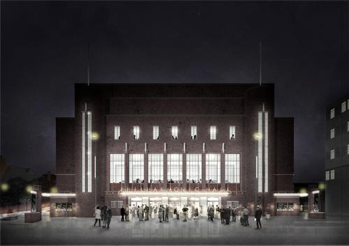Caruso St. John are the leading architects behind the project, having produced a two-phase masterplan for the entire site. / Liverpool Philharmonic Hall and Caruso St. John