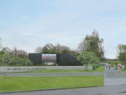 The visitor centre will open in time for the battle's 700th anniversary