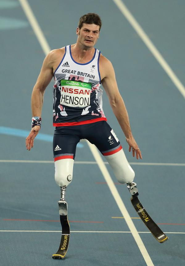 """Dave Henson says running on his blades is """"the closest I'll ever get to flying"""""""