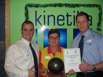 Stourport Sports Centre wins national Deafblind Friendly award