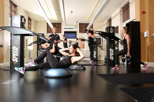 The Speedflex concept focuses on group exercise