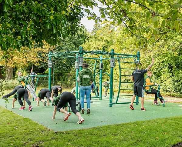 The trail has proved popular with students and the wider community
