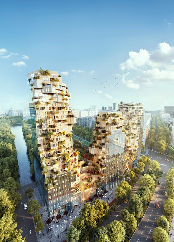 The studio's design for developer OVG Real Estate was selected by the Municipality of Amsterdam in 2015 following an international competition / MVRDV