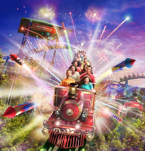 The ride lasts 2 minutes, 19 seconds but features six airtime moments / Dollywood