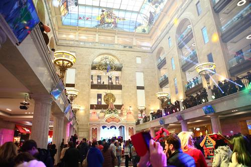 The new Hamleys is located in the same building that housed the former Soviet Union's largest toy store / Paragon Creative