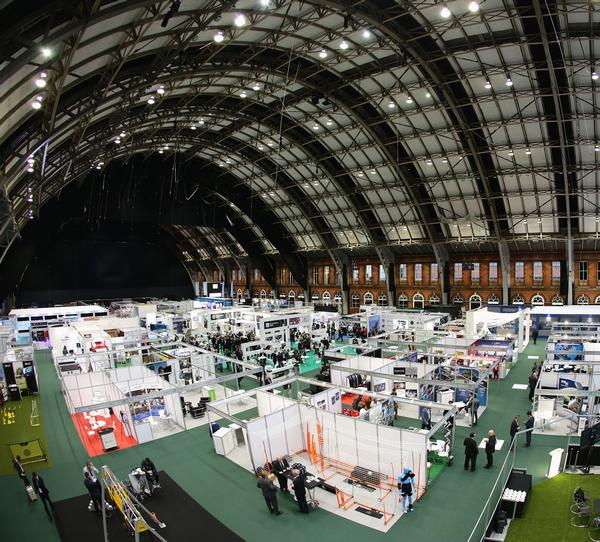 The Manchester Central Convention Complex was home to the Soccerex event