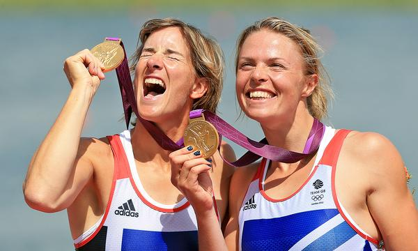 Grainger won Gold at the 2012 Olympics in the double sculls with Anna Watkins / © Stephen Pond:PA Archive:PA Images