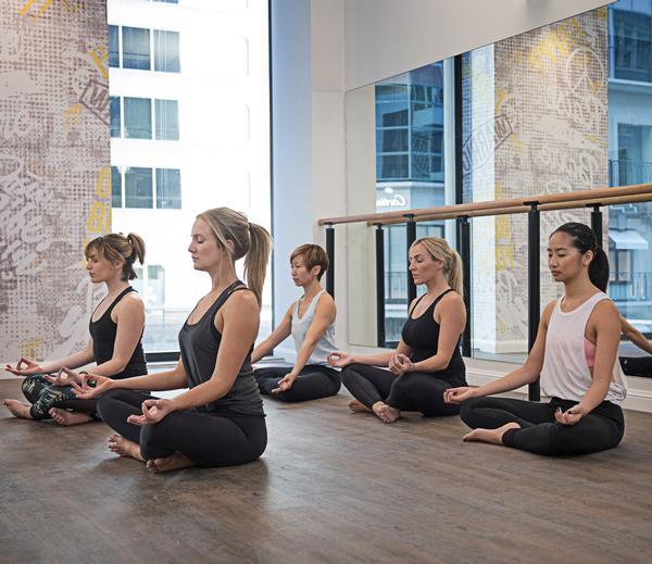 Australian brand YogaBar offers yoga, barre and pilates