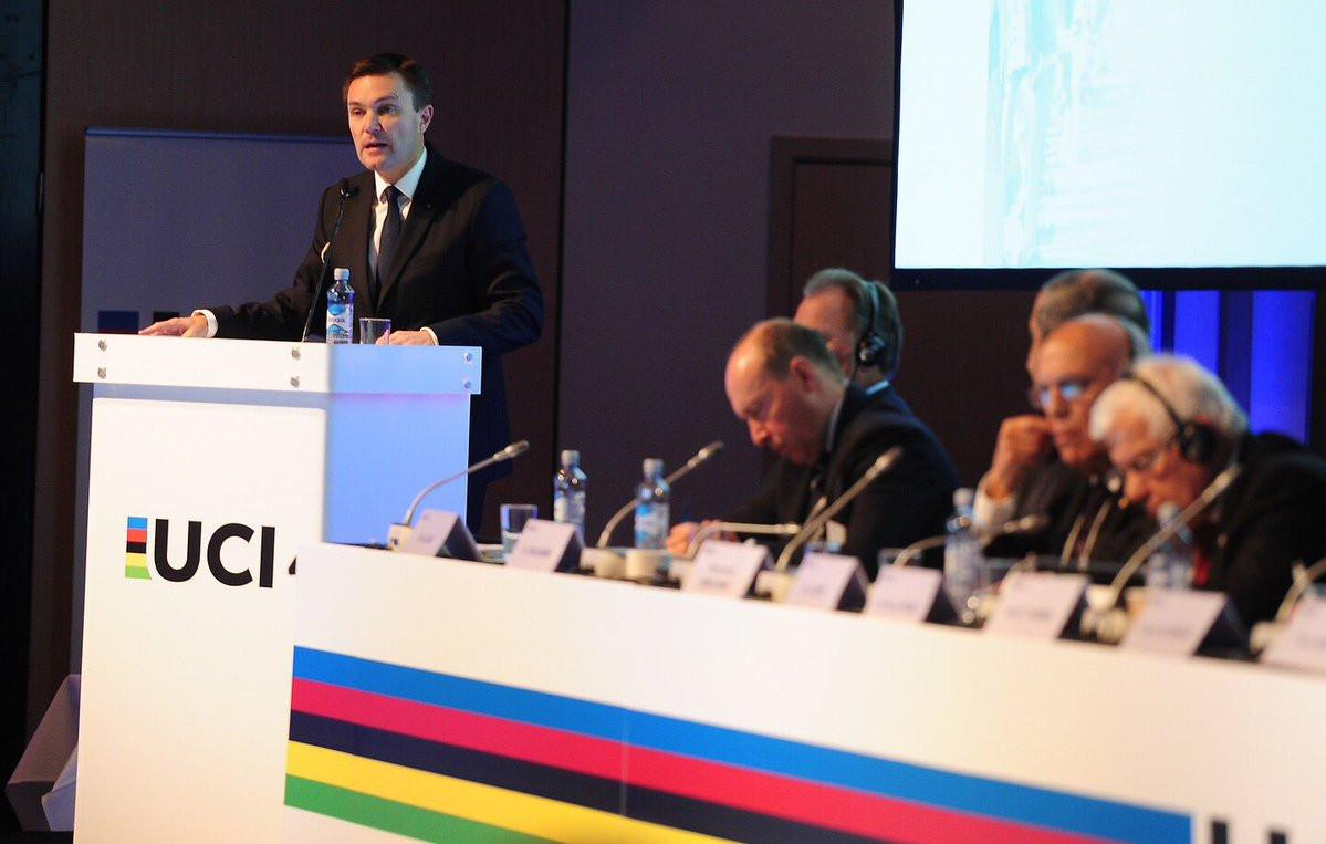 David Lappartient will be UCI president for four years / UCI