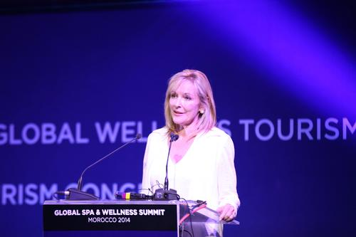 Global Wellness Institute's branding structure revealed at GSWS 2014