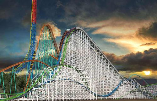 Six Flags reinvents Batman, Colossus rides for 2015