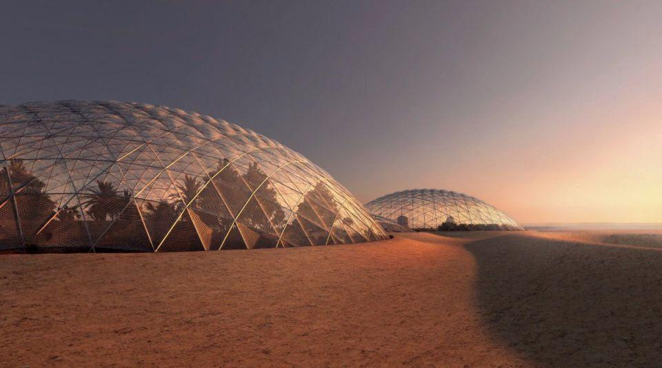 The city will feature a series of futuristic domes structures – designed by Ingels and a team of Emirati scientists, engineers and designers  / Government of Dubai