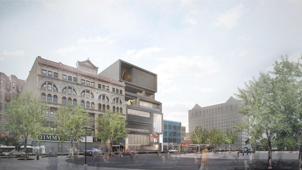 The Extension Design Evokes The Brownstones, Churches, And Bustling  Sidewalks Of Harlem / Studio
