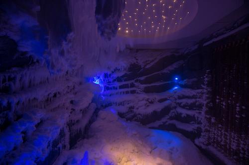 The first snow grottos in Qatar will debut at the Katara Beach Club