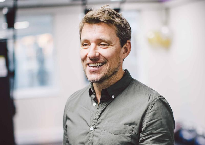 Ben Shephard is a Speedflex ambassador