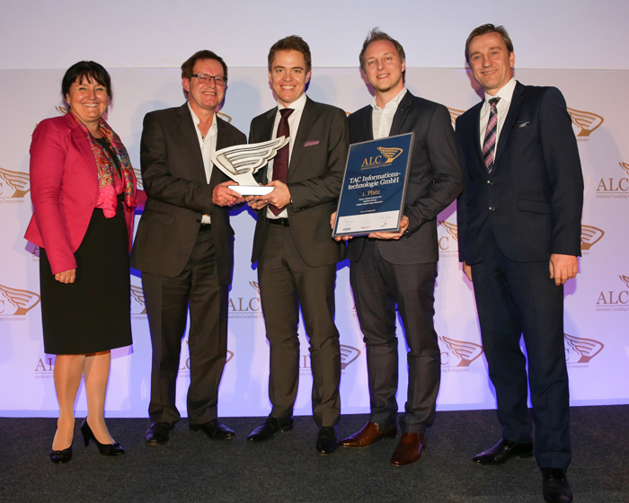 TAC honoured in 'Austria's Leading Companies' awards