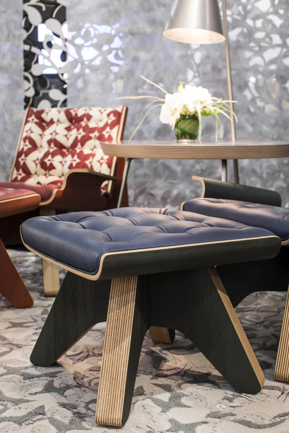 The Bintan collection was named for the Indonesian island and features handprinted upholstery / Marek Swoboda