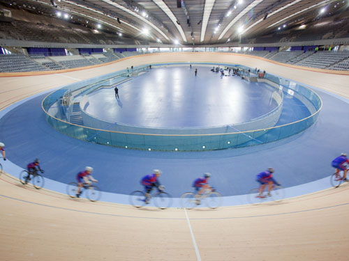 The velodrome is the first 2012 Olympic venue to be compelted