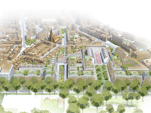 The Chelsea Barracks site is to undergo a major transformation
