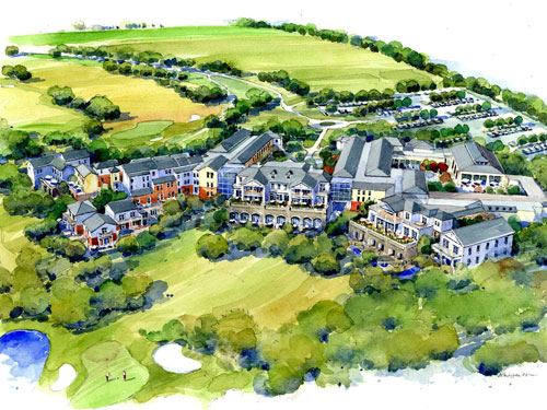 MacKenzie Wheeler are behind the designs for the golf club scheme
