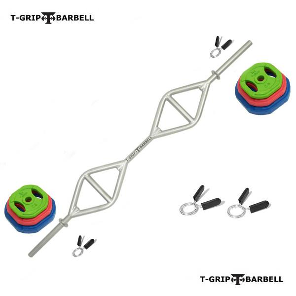 T-Grip Lite functional exercise barbell