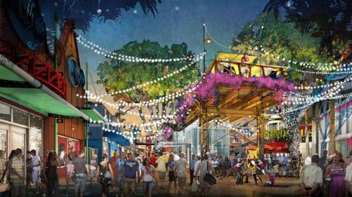 Images revealed for Disney Springs regeneration at Disney World Florida