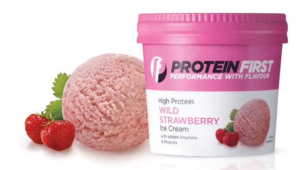 Protein ice creams from Protein First