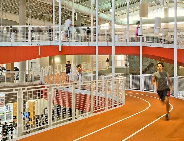 Auburn University's Recreation and Wellness Center / PHOTO: HOK / Brad Feinknopf