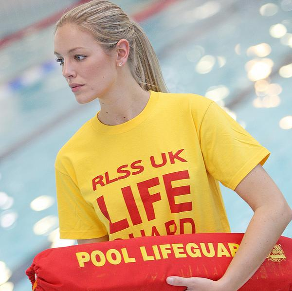 Seventy per cent of all lifeguards are aged 16 to 25