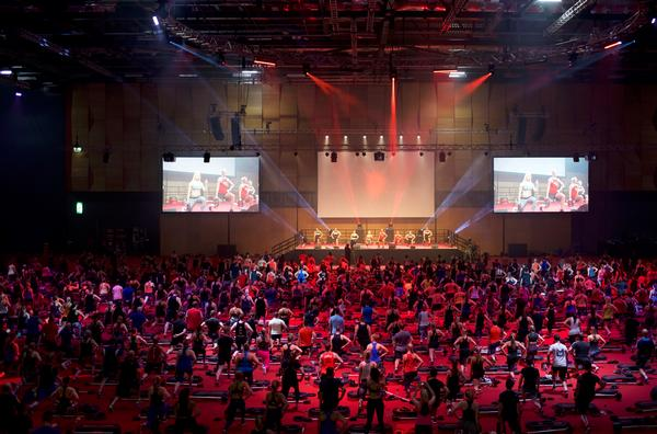 Les Mills currently has 10,000 active instructors in the UK and 100 trainers
