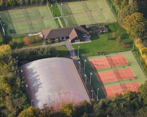 Any time for tennis as airdome proves a success at Essex club