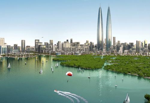 The towers will potentially transform Dubai's entire skyline / Emaar Properties and Dubai Holding