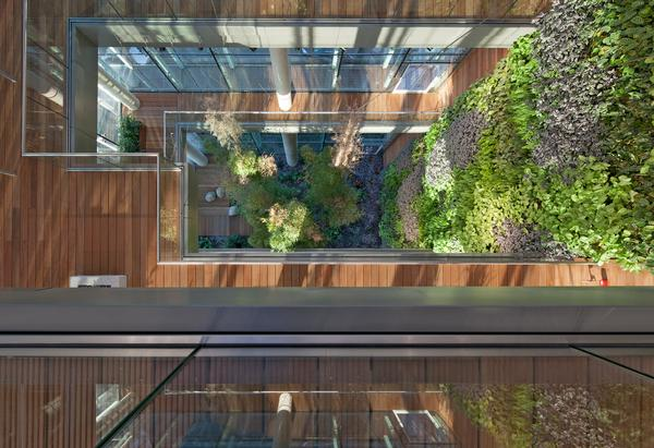 Homebuilder Barratt London added vertical gardens and green space to its sellout GWQ Westgate House apartment development