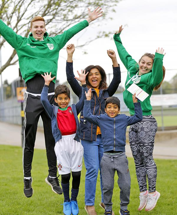 ParkLives Southampton has encouraged many families to get active